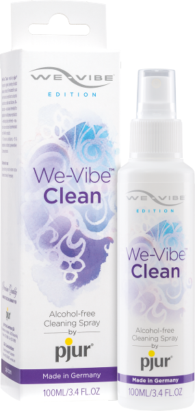 We-Vibe Clean • made by pjur