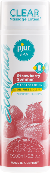 pjur SPA ScenTouch Strawberry Summer